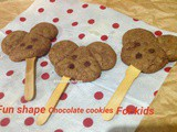 Fun Shape Chocolate cookies for kids
