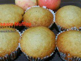 Healthy Apple Sauce Muffins