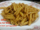 Low spice Pasta for kids