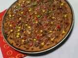 Nutella chocolate chip cookie pizza,,kids friendly recipe