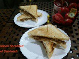 Tandoori Shredded Beef Sandwich