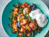 Eat Well Lost Weight-Southwestern Hash With Poached Eggs
