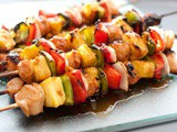 Fingers Licking: Delicious Grilled Chicken Kabobs