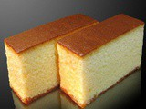 Honey castella cake