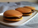 "One Of The Best Pancakes In The World – ""Dorayaki"" (Japanese Red Bean Pancake) With Nutella"