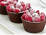 Recipe of The Day: Delicious Chocolate Cups With Fruit