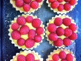 Lemon and Raspberry Tarts