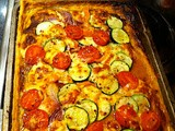 Very Easy Roast Vegetable Tart