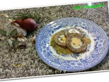 Rotolo di vitello con uova / Roll of calf's belly with eggs