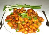 Baby corn manchurian recipe - how to make baby corn manchurian