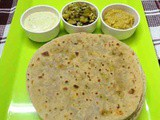 Broccoli stuffed paratha recipe - how to make stuffed paratha