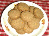 Jowar raagi badam cookies - sorghum finger millet almond cookies - cookie recipes