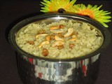 Narali bhath recipe | Sweet coconut rice