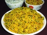 Palak pulao recipe - spinach pulav -pulao recipes