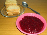 Strawberry Jam and cheese jam sandwich recipe
