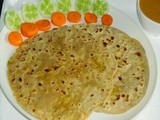 Stuffed Aloo Paratha - Stuffed Potato Paratha