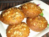 Walnut banana muffins recipe