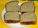 Wheat flour honey bread recipe - healthy bread recipes