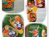 '5+ a Day' and 'Eat Your Colours' lunch boxes in Little Treasure Magazine