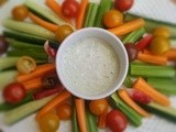 A yummy recipe from Slow Food Waitakere: Onion Weed Dip