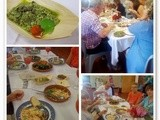 An amazing Slow Food Lunch
