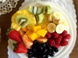 Beautiful Fruit Plates and Salads
