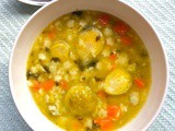 Brussels sprouts taste better in a soup