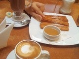 Churros con Chocolate, Alfajores, dulce de leche, Neruda... so many things in Valparaiso
