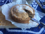 Colomba Sestolese - a traditional sweet pie from my Italian village in the Apennines - step by step photos and instructions