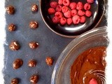 Fresh As raspberries, lychees and feijoas dipped in dark chocolate