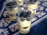 Fruit, cheese or dessert? Ricotta with blueberries and honey for Sweet New Zealand