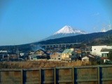 Fuji from the Shinkansen