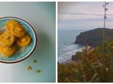 Gorse cupcakes, foraging in Anawhata