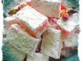 Home Made Rose Turkish Delights (Lokum)