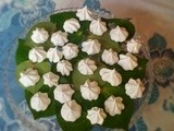 Kawakawa meringues and biscuits