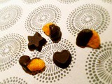 Mandarin and blueberry chocolates