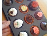 Miniature cupcakes and sugar flowers, and a sugar craft workshop for children