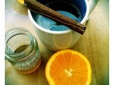 Orange, Cinnamon and Honeydew Tea, and the winner of the j.Friend honey giveaway