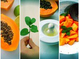 Papaya, Lime and Mint Salad