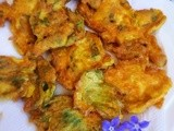 Parmesan and Borage fritters: four ingredients, gluten free