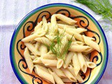 Pasta con crema di finocchi - Pasta with Fennel Cream