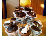 Pear and Chocolate Cupcakes, and reverse mixing