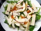 Pears, Rocket and Parmesan Salad with Extravecchio Balsamic Vinegar of Modena