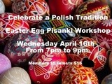 Polish Easter Egg Workshop Wednesday 16 April and the recipe of the day: Gluten free and vegan vermicelli with baby corn and Chinese mushrooms