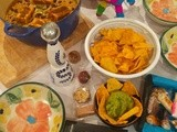 Poor Italy, Viva Mexico and an improvised Vegetarian Mexican dinner