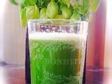 Super green juice, and it tastes lovely