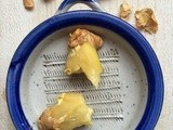 Tip for peeling ginger