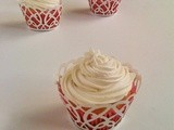Vanilla Cupcakes with Italian Butter Icing