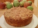 Wholemeal apple cake