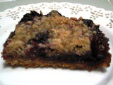 Cherry Crumble Pie Bars...just another Sunday afternoon
